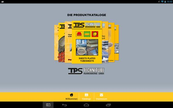 TPS Technitube Catalogs poster