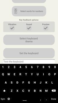 Flat Keyboard Themes poster