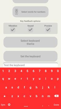 Flat Keyboard Themes apk screenshot