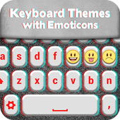 Keyboard Themes with Emoticons icon