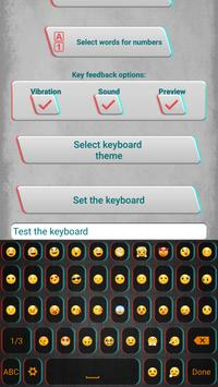 Keyboard Themes with Emoticons apk screenshot