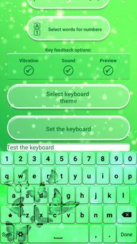 Neon Green Emoticon Keyboard poster