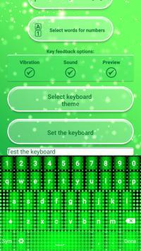 Neon Green Emoticon Keyboard apk screenshot
