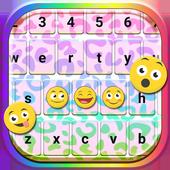 Rainbow Cheetah Keyboard icon