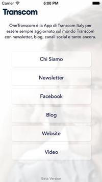 OneTranscom Italy poster