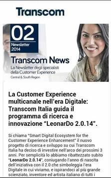 OneTranscom Italy apk screenshot