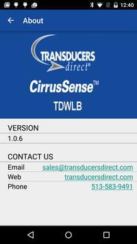 CirrusSense TDWLB poster
