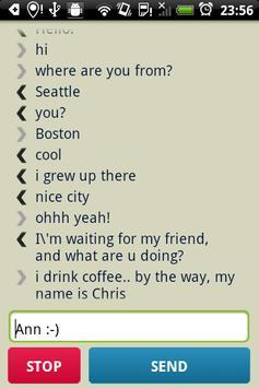 Anonymous Translation Chat apk screenshot