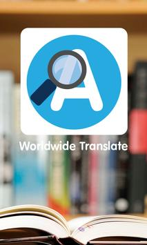 Worldwide Translate apk screenshot