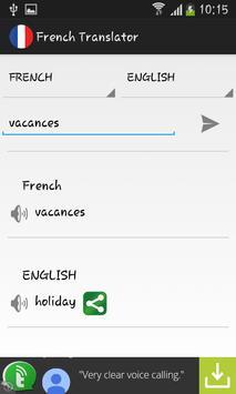 French Translator apk screenshot