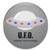 U.F.O. related terminology icon