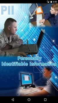 PII Awareness poster
