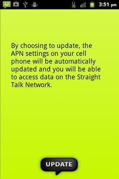 Straight Talk Data Settings apk screenshot
