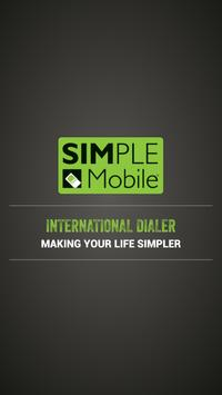 Simple Mobile International poster