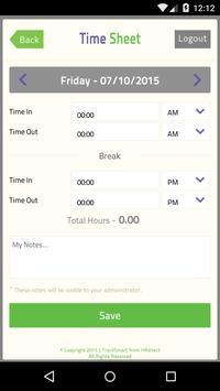TrackSmart Attendance apk screenshot
