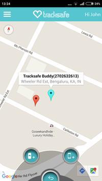 Tracksafe apk screenshot