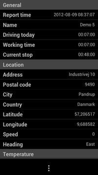 Datamobile Tracker apk screenshot