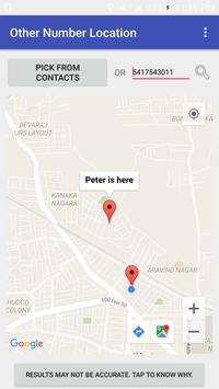 Other Number Location Tracker apk screenshot