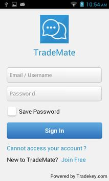 TradeKey.com TradeMate poster