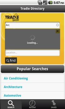 Tradie Directory apk screenshot
