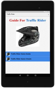 Guide For Traffic Rider poster