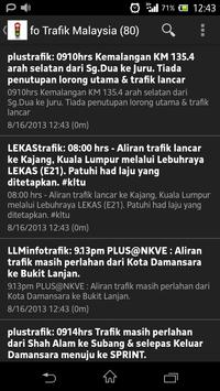 Trafik Malaysia Traffic poster