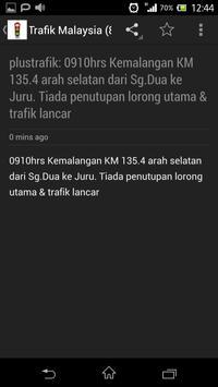 Trafik Malaysia Traffic apk screenshot