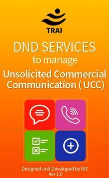 DND Services (TRAI) poster
