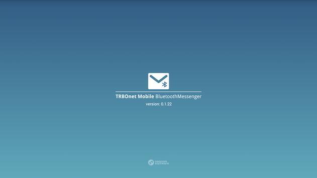 TRBOnet™ Mobile BT Messenger (Unreleased) poster