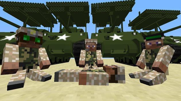 War Mods For Minecraft MCPE apk screenshot