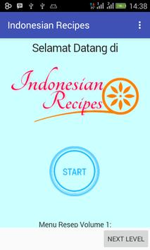 Indonesian Recipes vol.1 poster