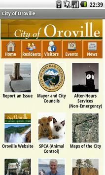 City of Oroville poster