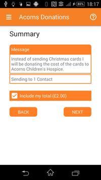 Acorns Donations apk screenshot