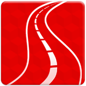 QR Road icon