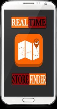 RealTime Store Finder poster