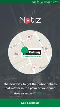 Ealing Notiz poster