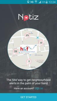 Hammersmith & Fulham Notiz poster