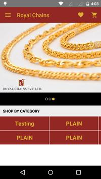 Royal Chains Pvt Ltd poster