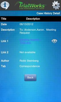 TrialWorks App apk screenshot