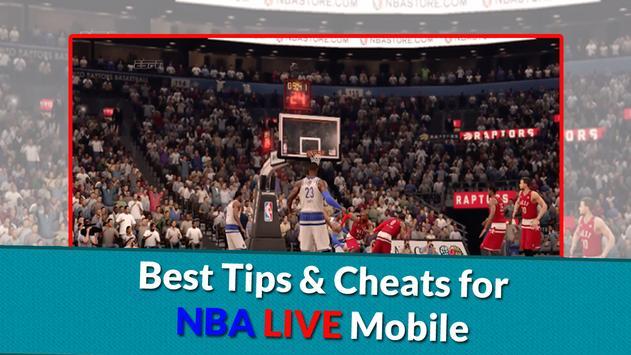 Guide for NBA LIVE MOBILE 2016 apk screenshot