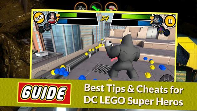 Guide for LEGO BATMAN DC HERO poster