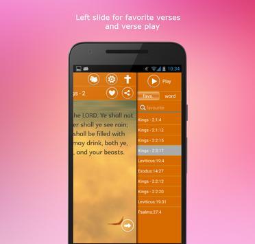 Holy Bible KJV apk screenshot