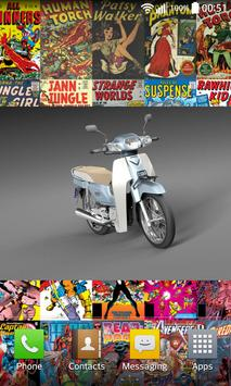 360° Small Motorcycles poster