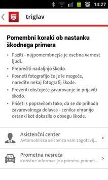 Triglav Avtomobilska škoda apk screenshot