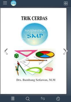 Trik Cerdas Matematika SMP poster