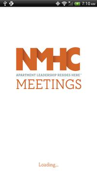 NMHC Meetings poster