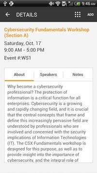 CSX 2015 North America Conf. apk screenshot