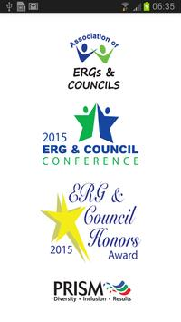 ERG & Council Conference 2015 poster