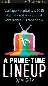 Vantage Conf & Trade Show 2015 poster