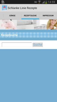 Schlanke Linie Rezepte apk screenshot
